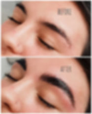 Brow Lamination Before & After 🤤_The pr