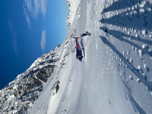 Alpine landing at The Remarkables