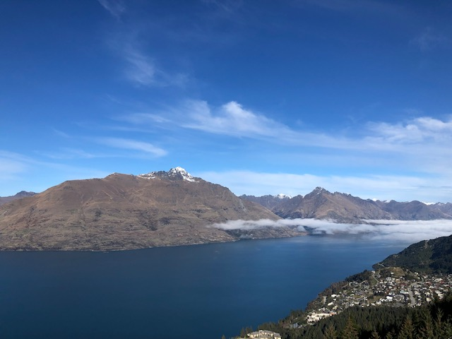 Views of Queenstown from the Skyline