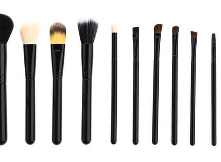 How do you clean your makeup brushes?