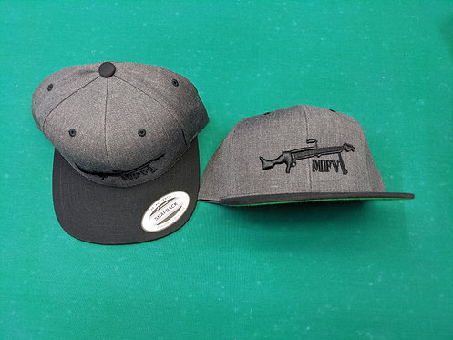 MFV Gray/Black Hat