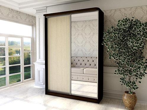 Шкаф 2 (AL) 1600*450+зеркало