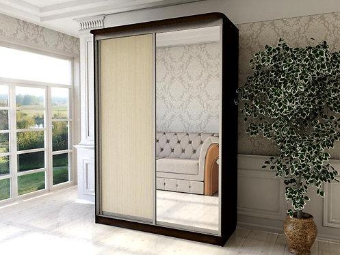 Шкаф 2 (AL) 1600*600 с Ящиками+зеркало