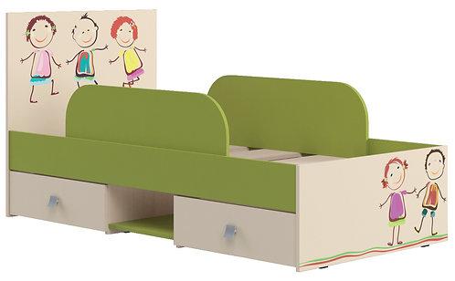 """Кровать для детской """"Дружба""""№2"""