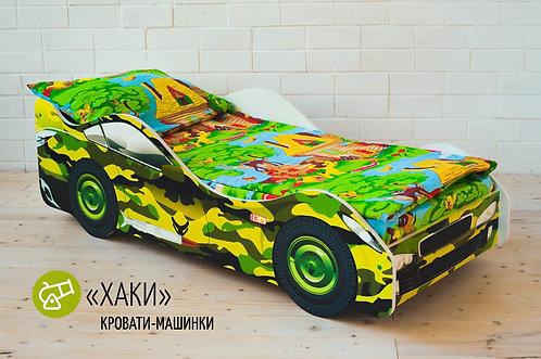 Детская кровать-машина «Хаки»