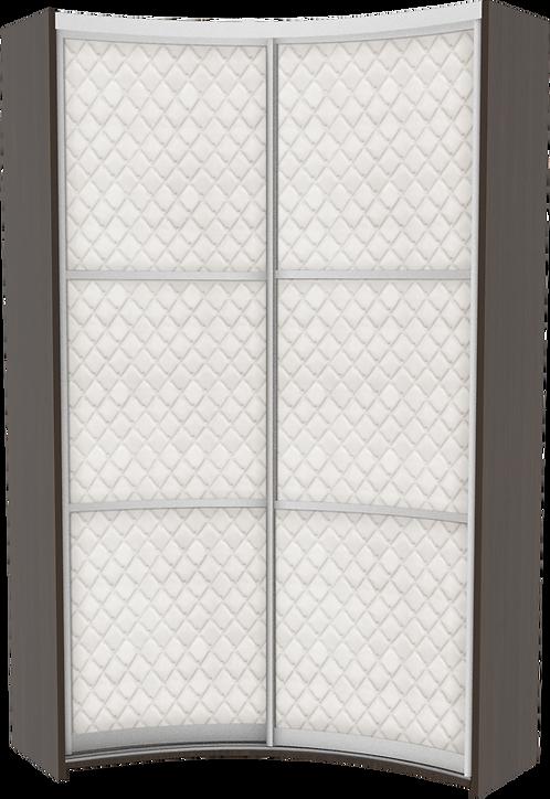 Комплект дверей для радиусного IN шкафа модель 1 Luxor
