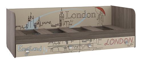"""Кровать для детской с ящиками """"Лондон"""""""