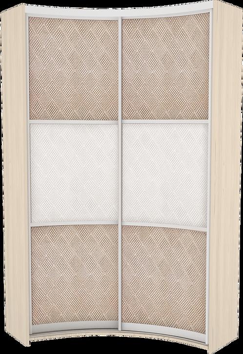 Комплект дверей для радиусного IN шкафа модель 1 Prestige