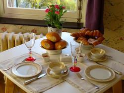 Maison Flagey - Le petit déjeuner