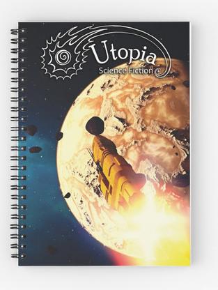 August Issue Spiral Notebook