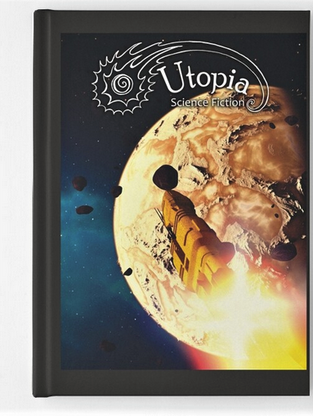 August Cover Art Hardcover Notebook
