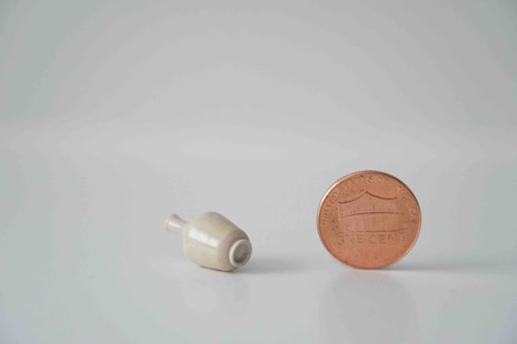 Miniature Vase and Footring