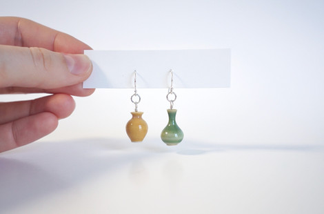 Miniature Pottery Earrings