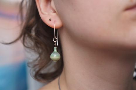 Miniature Pottery Earrings