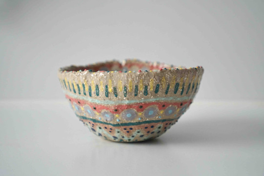 Hand-Painted Pinch Bowl