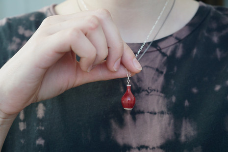 Miniature Pottery Necklace