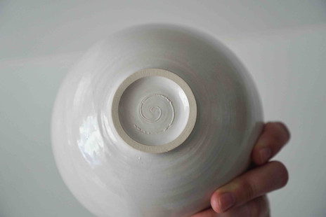 Footring of Thrown Bowl