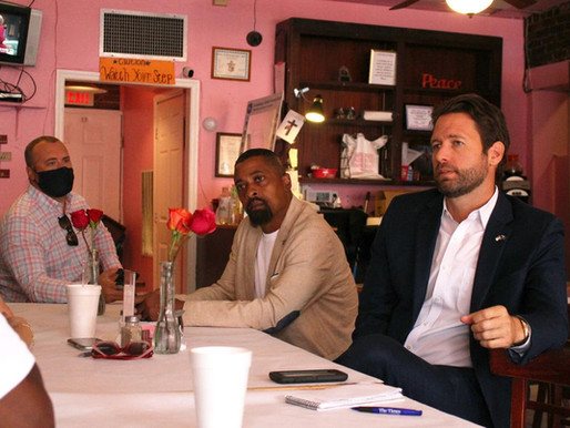 JOE CUNNINGHAM MEETS WITH GEORGETOWN RESIDENTS TO DISCUSS PROBLEMS IN THE WEST END