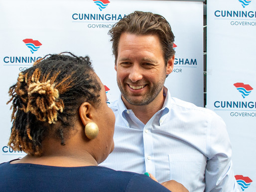 JOE CUNNINGHAM RELEASES VOTING RIGHTS PLAN FOR SOUTH CAROLINA