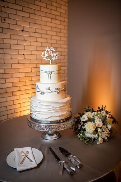 "16"" Silver Amalfi Cake Stand"
