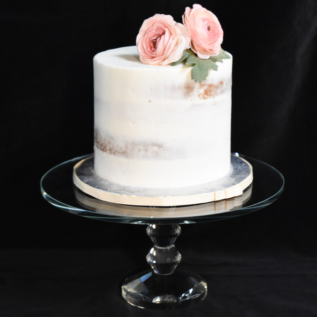 Semi Naked Cutting Cake