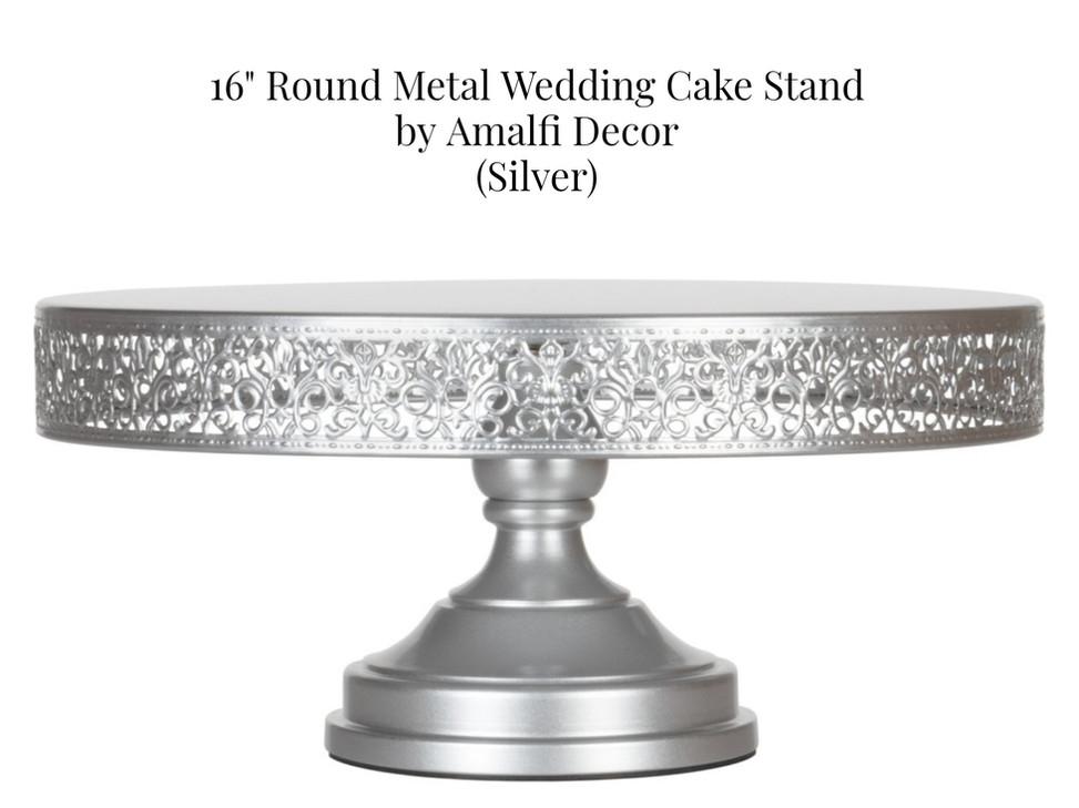 """16"""" Silver Amalfi Stand"""