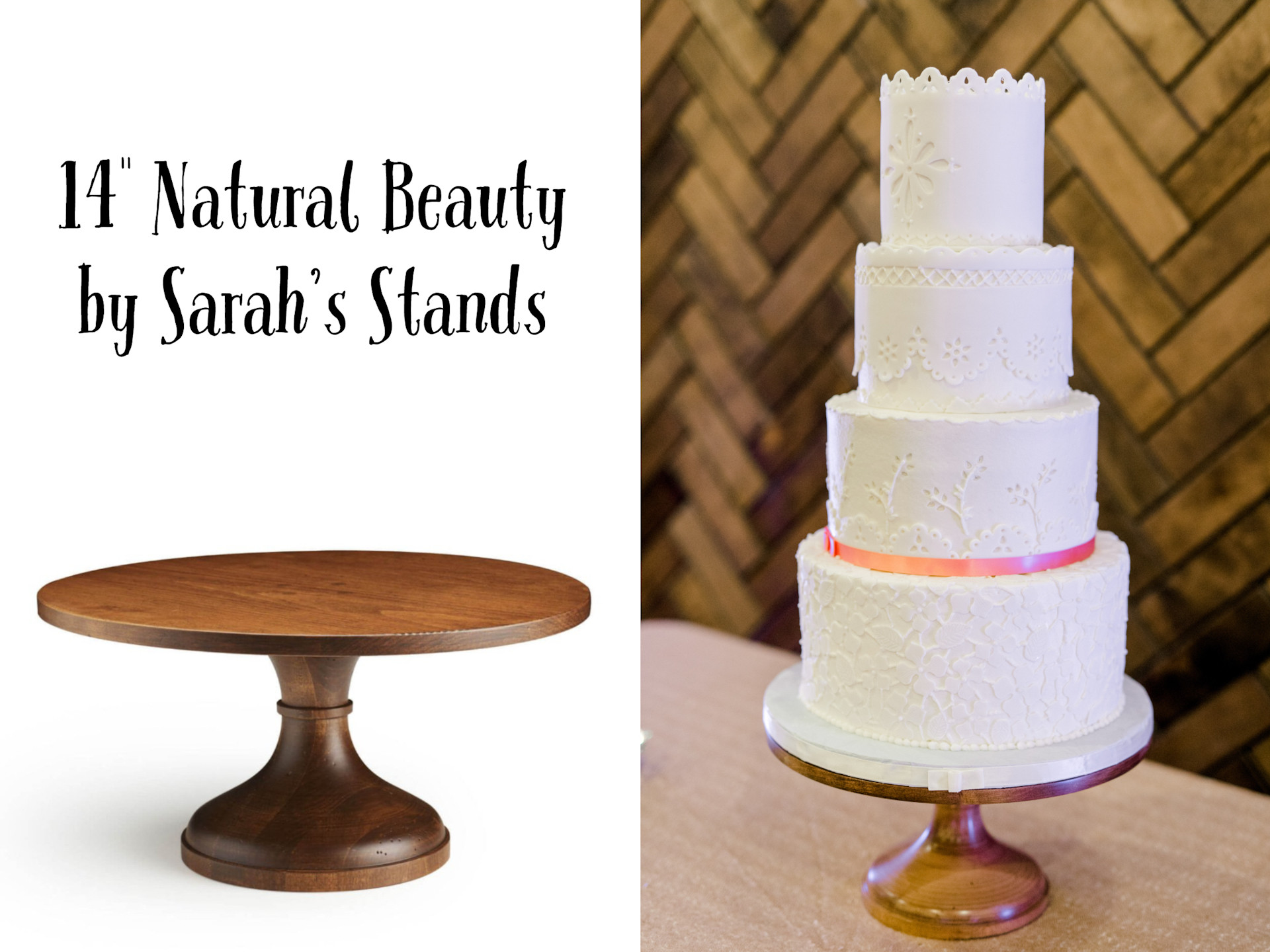 """14"""" Natural Beauty by Sarah's Stands"""