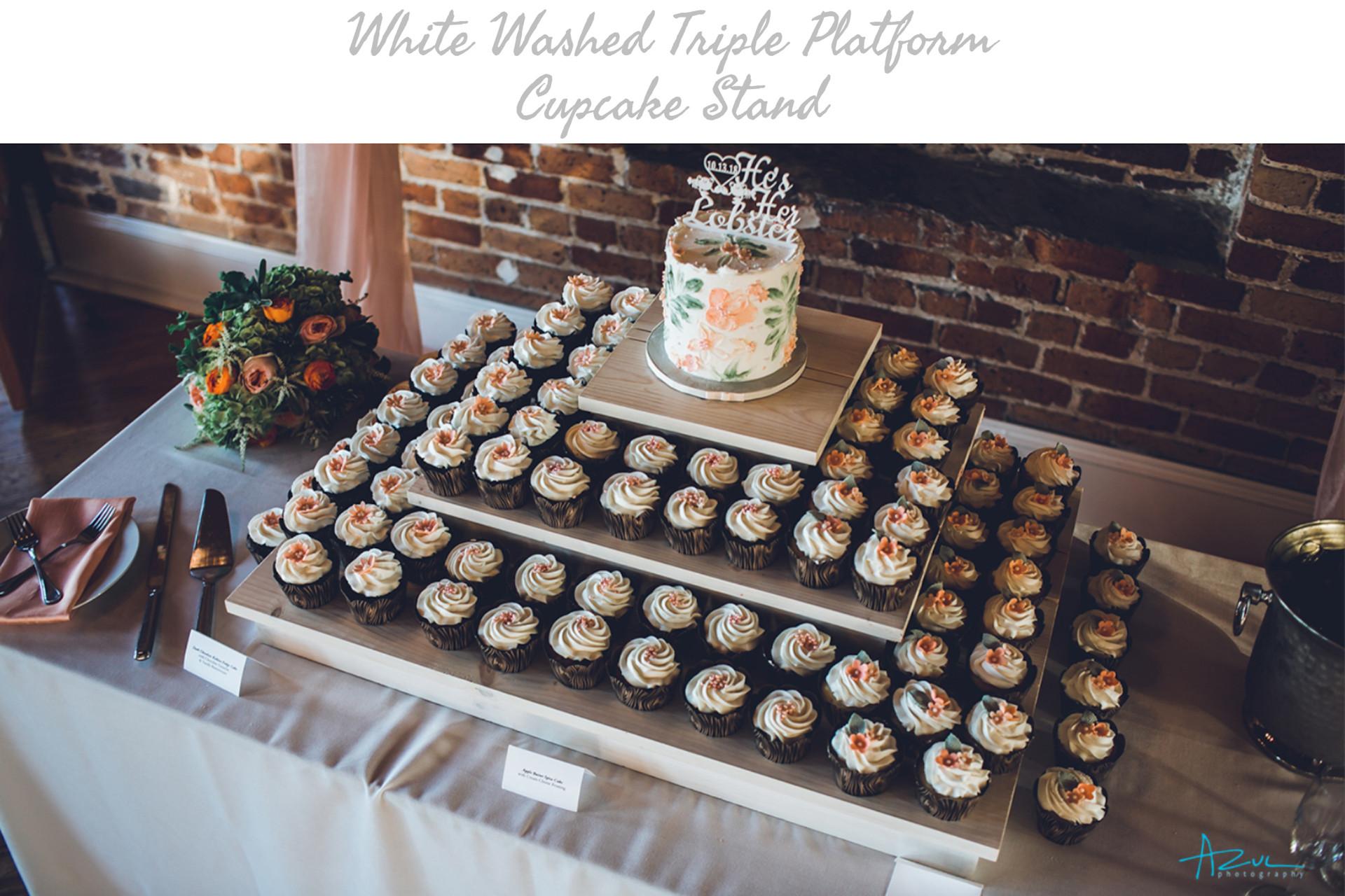 Triple Platform Cupcake Stand