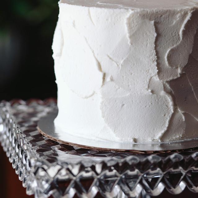 Textured Buttercream Cutting Cake