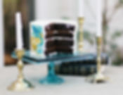 Dark Chocolate Kahlua Fudge. Photography by Colleen Mathias Photography