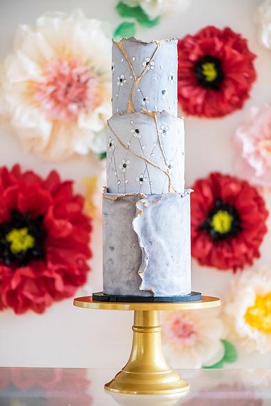 "12"" Round Gold Switch n Swap Cake Stand"