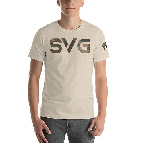 SVG Woodland Camo T Shirt