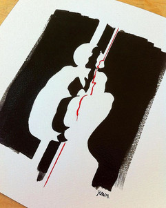 - Lock Down - #painting #art #illustrati