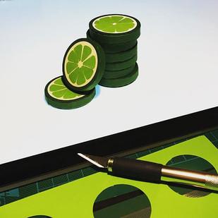 Soon #workinprogress #papercraft #lemon