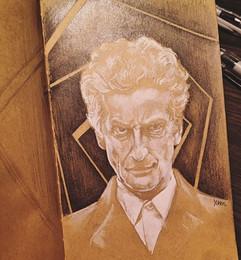 #PeterCapaldi is THE #Fantastic #Doctor.