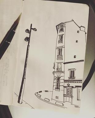 #sketch #paris #city #illustration #illu
