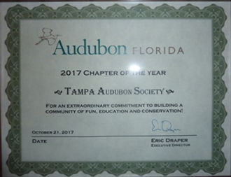 2017 Chapter of the Year Award