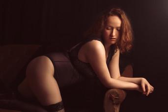 Séance boudoir : Sacha