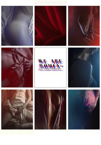 We Are Women ; exposition pour le festival Eros Femina, Paris, 2018.