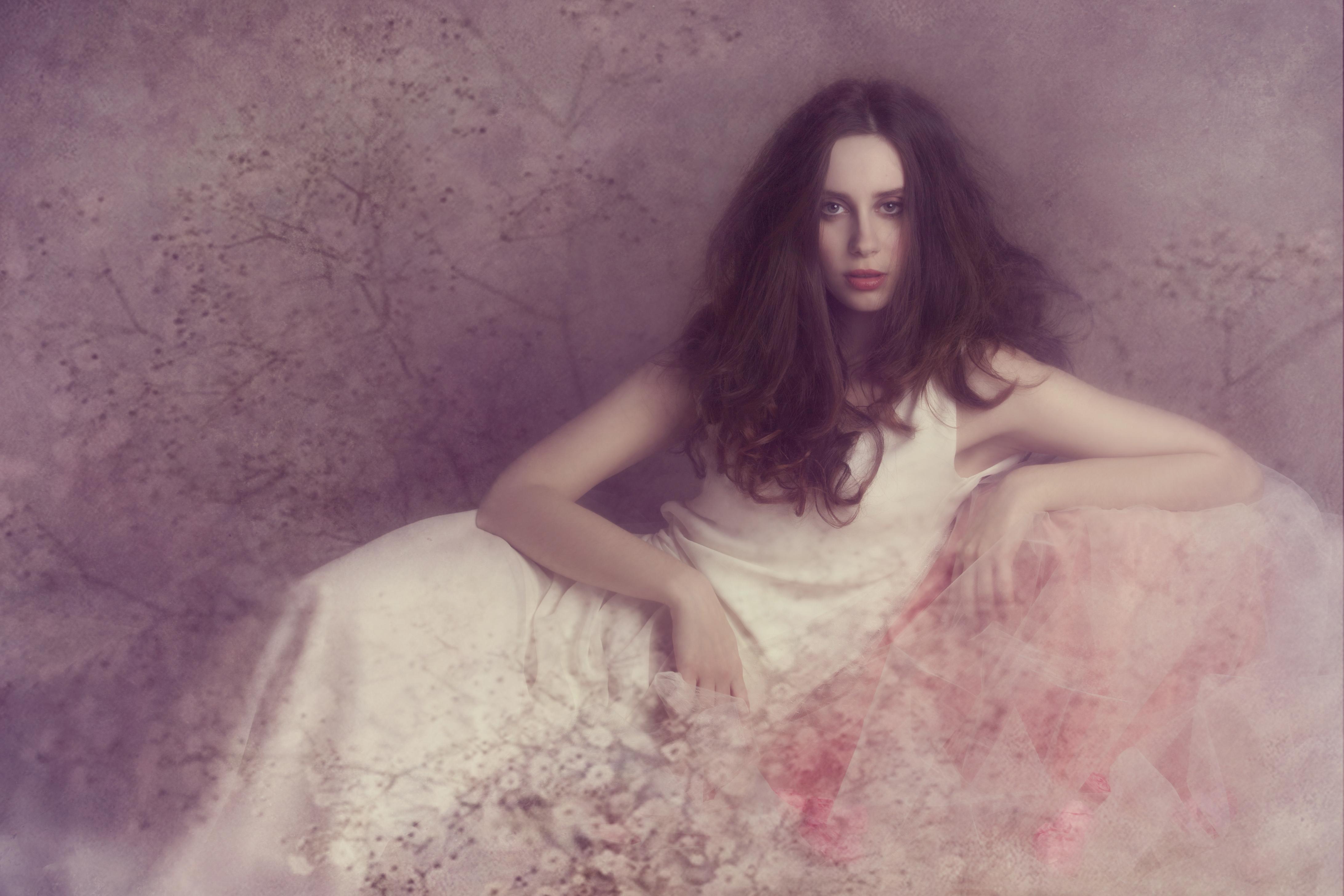 bridal boudoir mode photo