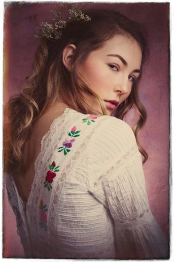 Portrait romantique : Lilas