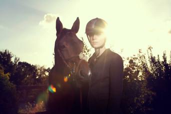Entre cheval et cavalier