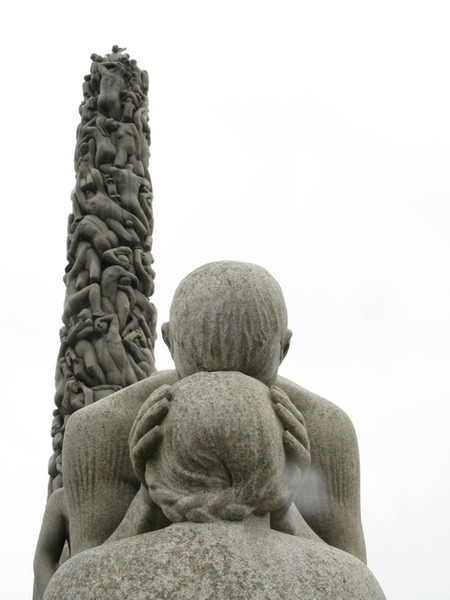 Vigeland's Granite monolith