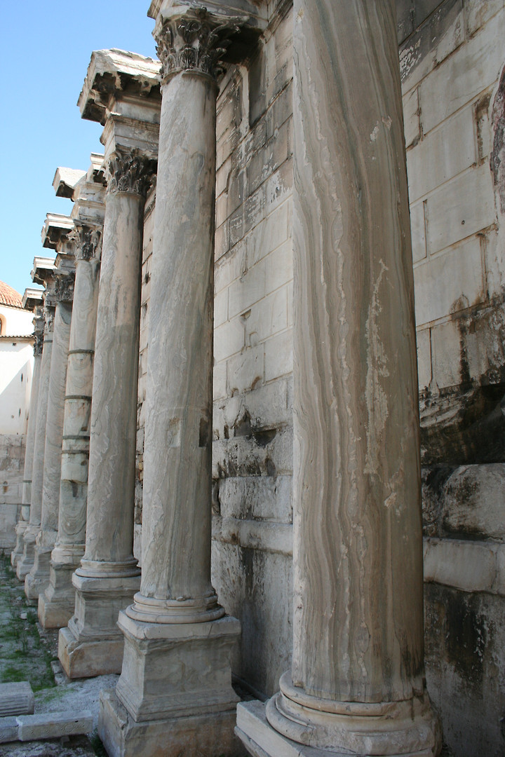 Hadrian's Library, Athens