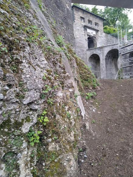 Mönchsberg Fortification