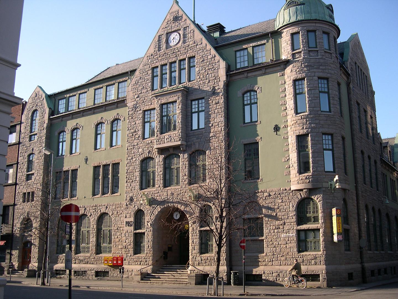 Granite fascade in Trondheim