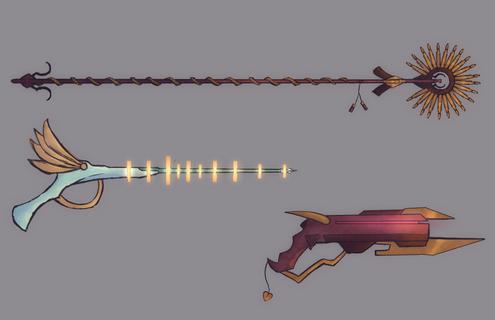Guonjuror Weapons