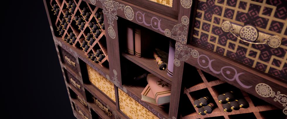 Prince's Scroll Shelf