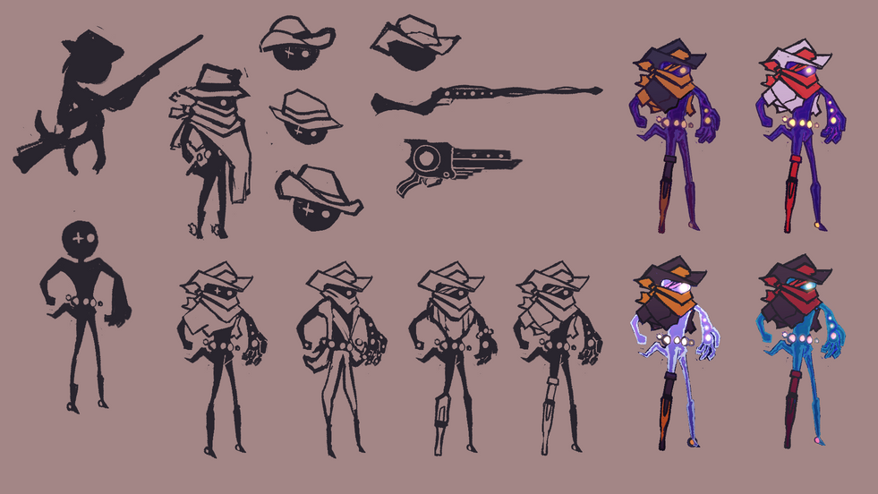 Concepting for Space COwboy