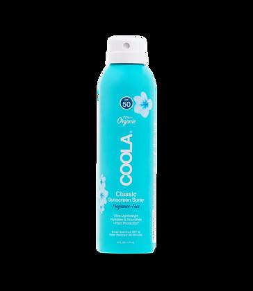 Coola Fragrance-Free Body Spray SPF 50